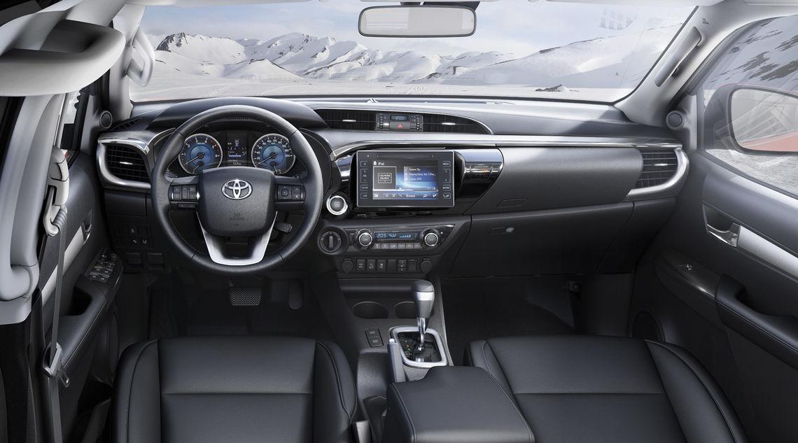 toyota hilux 2016 interior tme 013 a full tcm 3040 692386