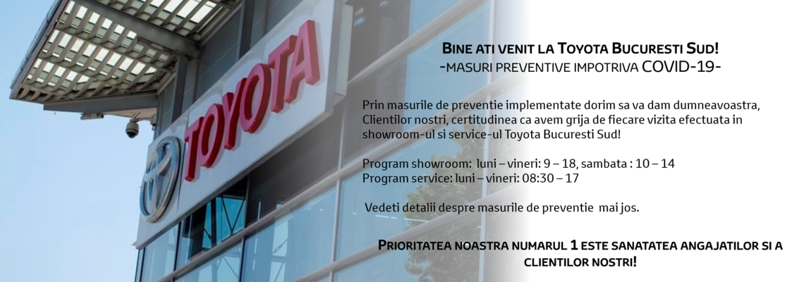 program mai toyota bucuresti sud